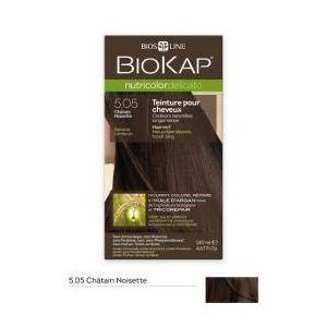 Biokap Coloration Cheveux Nutricolor Delicato Chatain Chocolat 4.05 - 140 ml