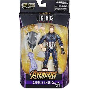 Hasbro Figurine Marvel Legends 15 cm - Avengers Infinity War - Captain America