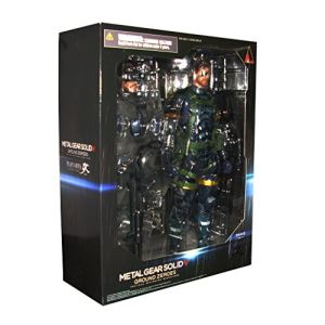 Square-Enix Figurine Ground Zeroes Snake (Metal Gear Solid V)