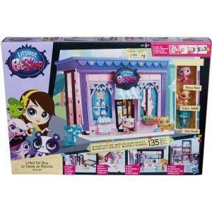 Hasbro La boutique avec 3 Petshop