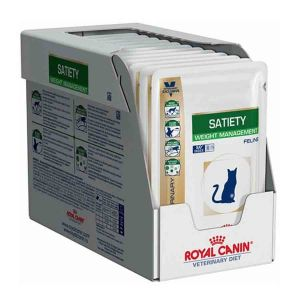 Royal Canin Veterinary Diet Cat Satiety Support 12 x 85 g