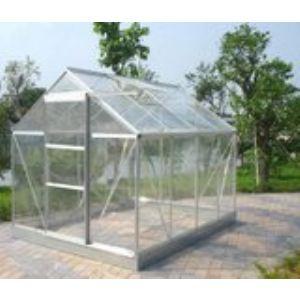 Image de Chalet et Jardin Serre de jardin 86 en verre trempé 4 mm 4,65 m2