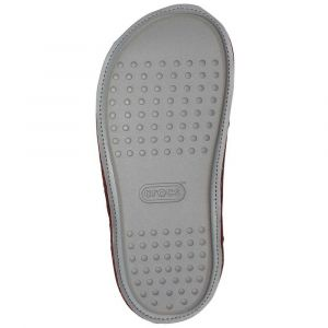 Crocs Chaussons BURGUNDY CLASSIC SLIPPER rouge - Taille 42,43,45