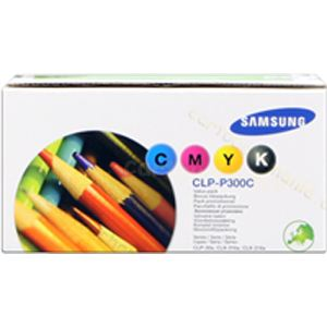Samsung CLP-P300C - Pack 4 toners couleurs 2000 pages