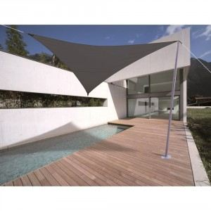 Morel VS 555 - Voile d'ombrage triangulaire Serenity 5 x 5 x 5 m - 185 g/m²