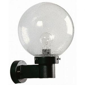 Albert Leuchten 660633 - Applique d'extérieur noire en verre à bulles