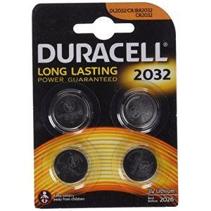 Duracell CR2032 Lithium 3V (par 4)