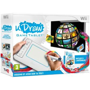 Nintendo UDraw - Game Tablette + UDraw Studio