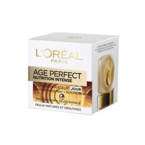 L'Oréal Age Perfect Nutrition Intense Jour Action ciblée, 60 ans et + 50 ml
