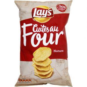 Lay's Chips cuites au four nature - Le paquet de 130g