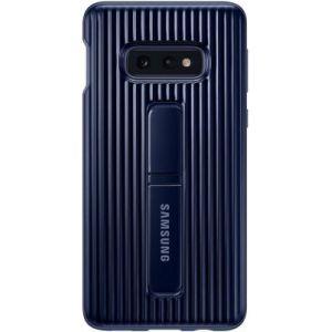 Samsung Coque S10E antichoc Fonction Stand bleu