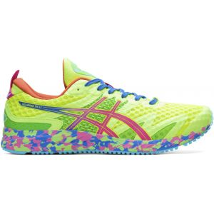 Asics Chaussures running Gel Noosa Tri 12 - Safety Yellow / Hot Pink - Taille EU 45