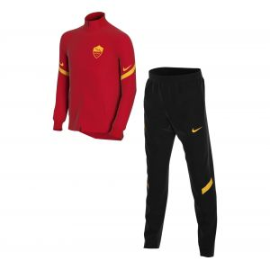 Nike Survêtement de football en maille A.S. Roma Strike pour Enfant plus âgé - Rouge - Taille S - Unisex