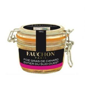 Fauchon Foie gras de Canard entier du Sud-Ouest - Le bocal de 120g