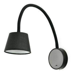 Faro Applique led Blome Noir Métal 62100