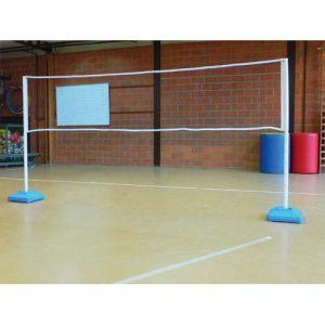 First Loisir Filet réglable pour activités, badmington, volley, mini tennis