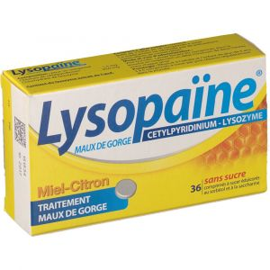 Boehringer Ingelheim Lysopaine maux de gorge - 36 Comprimés à sucer