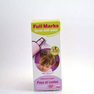 Full Marks Reckitt Benckiser - Spray anti poux 150 ml + peigne