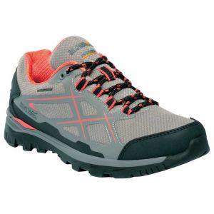 Regatta Chaussures Zapatillas Impermeables Lady Kota Low Gris Rosa Gris - Taille 37,39,40,41