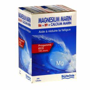 Biotechnie Fourreau Magnésium Marin B6 200 gélules