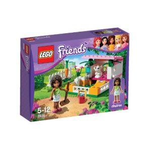 Lego 3938 - Friends : La maison du lapin d'Andrea