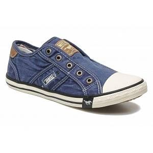 Mustang Shoes Slipper1099 401 841, Basket basses femme, Blau, 41 EU