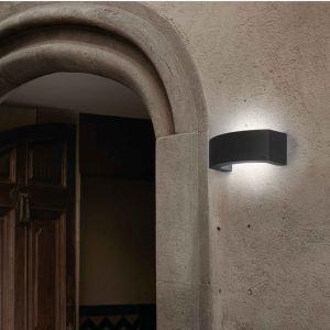 Faro 74401 - Applique extérieure murale Ancora en aluminium et polycarbonate