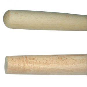 Rousselet 4563 - Manche cintré fourche à bêcher 1 m