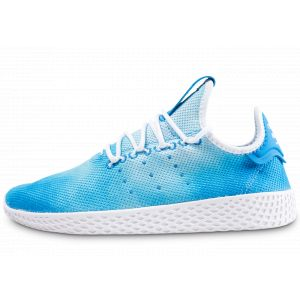 Adidas Pharrell Williams Tennis Hu Bleu Et Blanche Baskets/Rétro-Running/Baskets Enfant