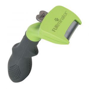 FURminator Outil deShedding poils longs, S pour chien - largeur du peigne : 3,8 cm
