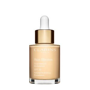 Clarins Skin Illusion - Fond de Teint Naturel Hydratation - 100,5 Cream - 30 ml - SPF 15