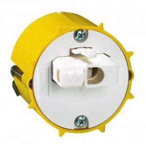 Legrand Boîte d'encastrement + Fiche pour applique Batibox plaque de plâtre Ø54 mm