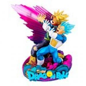 Abysse Corp Figurine Super Master Stars 18 cm Dragon Ball Super Vegeta & Trunks