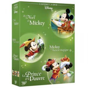 Coffret Le Noël de Mickey + Mickey et le haricot magique + Le prince et le pauvre