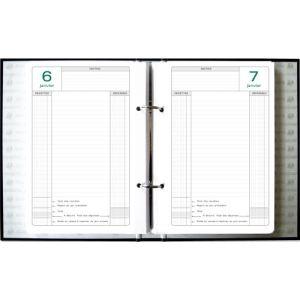 Exacompta journal de caisse à feuillets mobiles 1 jour par page (155 x 235 mm)