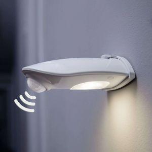 Ledvance Applique LED extérieure avec détecteur de mouvement 0.5 W 1x LED intégrée Door LED Down L 4058075267848 blanc 1 pc(s)