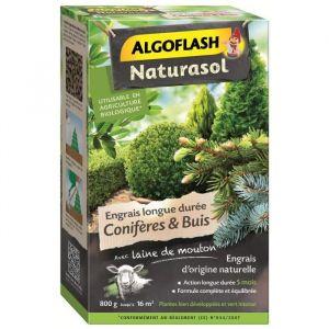 Algoflash Naturasol engrais conifères et buis 800 g
