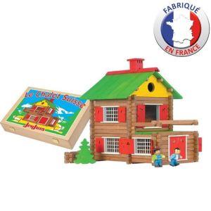 Jeujura Mon chalet en bois 175 pièces (8008)