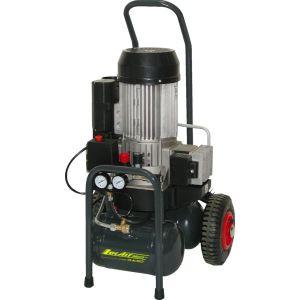 Lacme MaxAir 21/10 - Compresseur électrique de chantier sans huile compact et mobile 20 m³/h sur cuve 2 x 5 litres (460800)