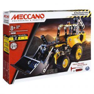 Meccano 6043106 - Tractopelle de Chantier