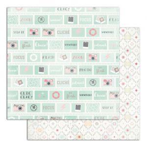 Toga PS151 Clic Clac Lot de 6 Feuilles Papier Multicolore 30,5 x 30,5 x 0,1 cm