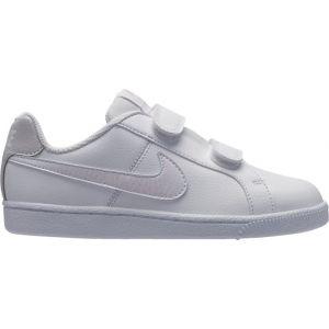 Nike Chaussures Tennis Court Royale Enfant blanc