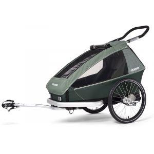 Croozer Kid Vaaya 1 Remorque enfant, jungle green Remorques vélo enfant