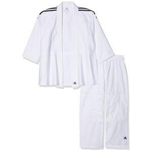Adidas J350 - Kimono de judo - Mixte - Blanc - Taille: 150