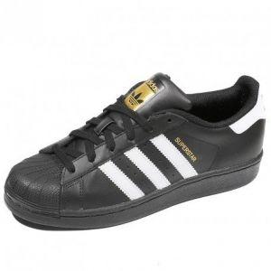Adidas Superstar Foundation chaussures Femmes noir blanc T. 37 1/3