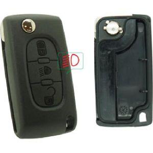 Neoriv Coque de clé télécommande PSA378CP
