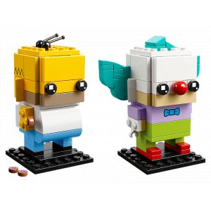 Lego BrickHeadz - Homer Simpson & Krusty le Clown - 41632