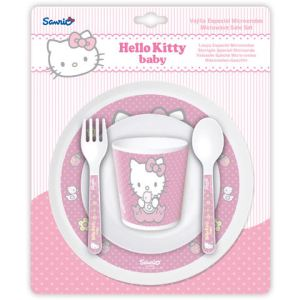 Stor 6324 - Set repas 5 pièces Hello Kitty
