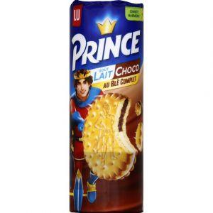 Lu Prince - Biscuits fourrés parfum lait et chocolat - Le paquet de 300g