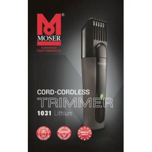 Moser Tondeuse barbe Lithium Ion Basic Trimmer